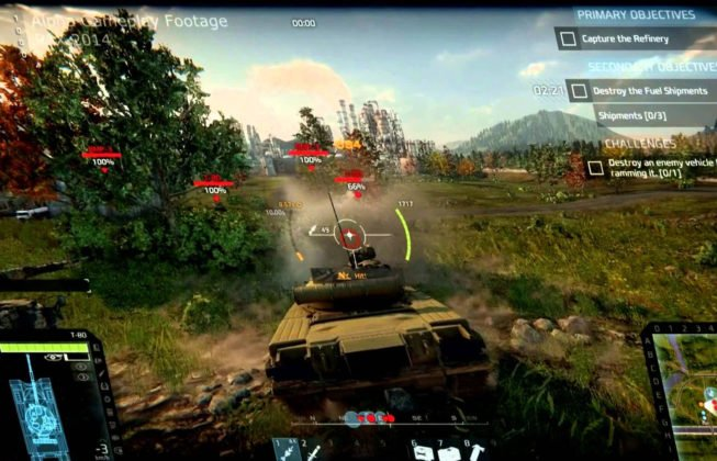 armored-warfare gameplay