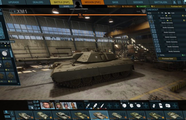 armored-warfare gameplay