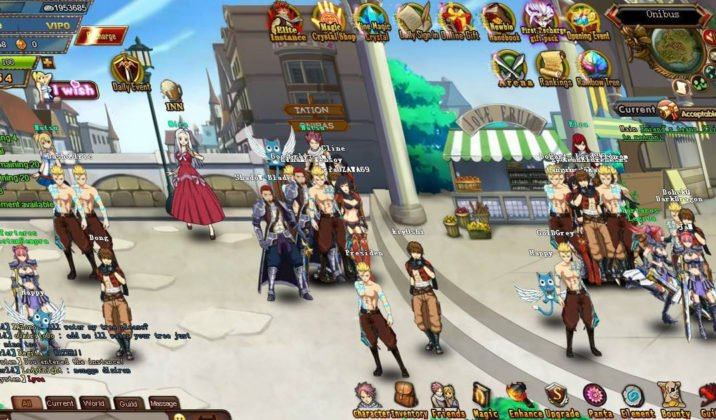 fairy-tail gameplay