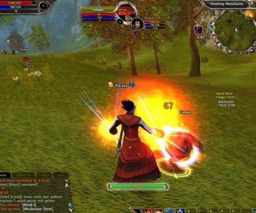 runes-of-magic gameplay