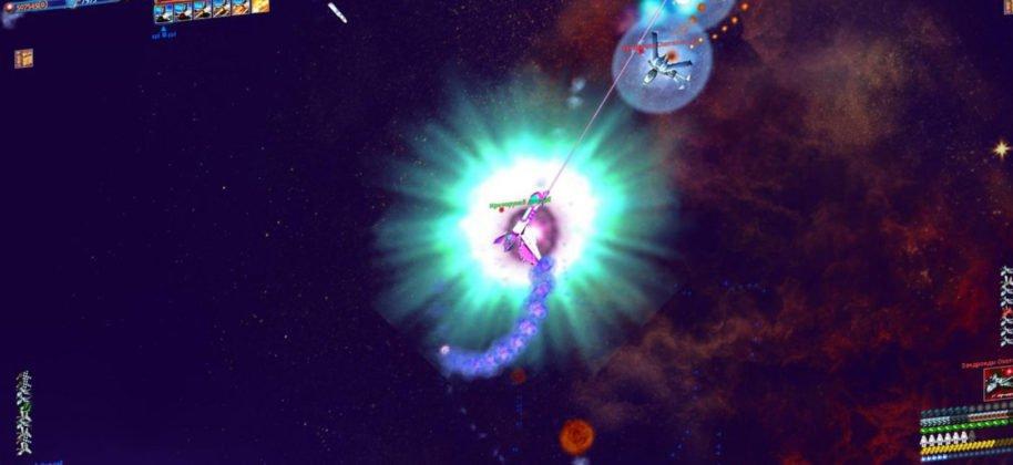 star-race gameplay