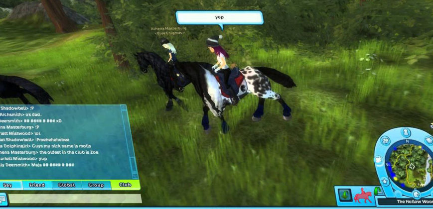 Star Stable gameplay