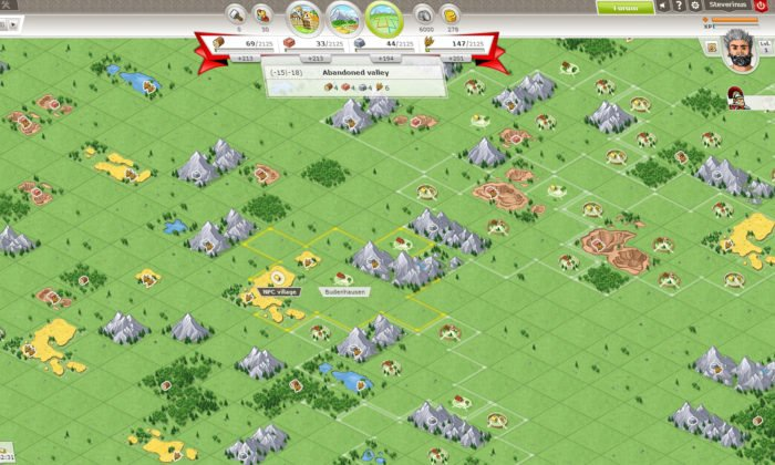 travian-kingdoms gameplay