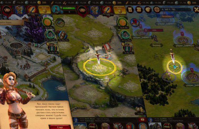 Vikings War of Clans gameplay