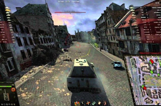 world-of-tanks gameplay