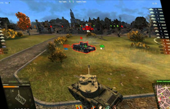 world-of-tanks gameplay
