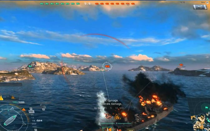 world-of-warships gameplay